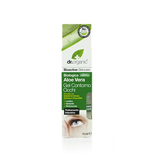 Organic Doctor Organic Aloe Vera Eye Gel, 0.5 fl.oz.
