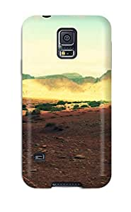 Hot Tpu Cover Case For Galaxy/ S5 Case Cover Skin - Mountains Music
