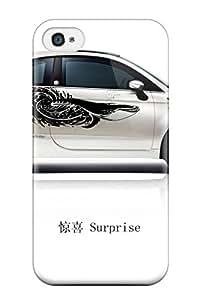 Alex D. Ulrich RpubgFp20126aFhZz Case Cover Skin For Iphone 4/4s (fiat 500 Surprise Cars Other)