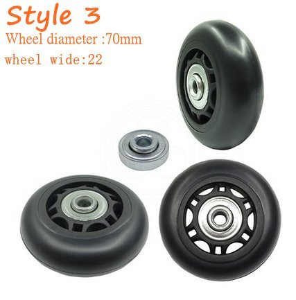 70mm wheels - 5