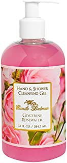 product image for Camille Beckman Hand and Shower Cleansing Gel, Glycerine Rosewater, 13 Ounce