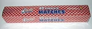 "Fireplace Matches, 11"" Long, Box of 40"