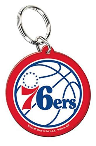 WinCraft NBA Philadelphia 76ers Key Ring, Premium Acrylic by WinCraft