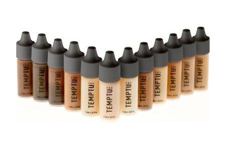 Foundation Set (TEMPTU PRO - 12 Color DURA Total Skin Foundation Starter Set in 1/4 Ounce)