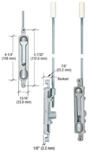 Offset Flush Bolt - 2