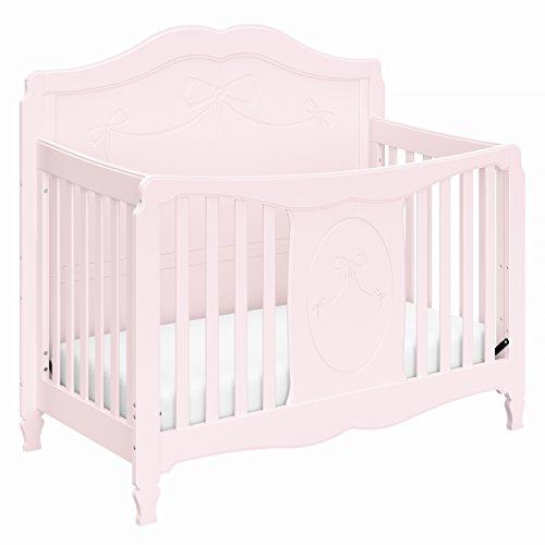 Storkcraft Princess 4-in-1 Convertible Crib, Primrose Pink