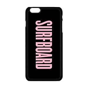 Pink surfboard motto Cell Phone Case for Iphone 6 Plus by runtopwell
