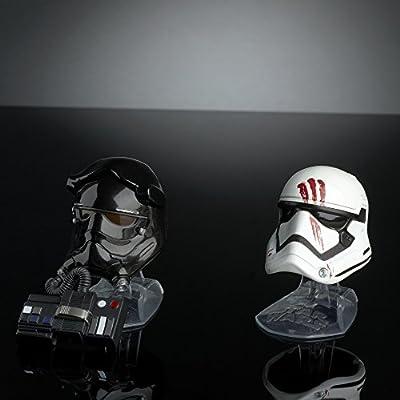 Star Wars Black Series Titanium Series Finn and First Order Tie Fighter Pilot Helmets: Toys & Games