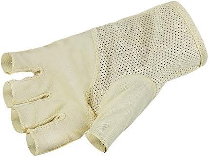 Summer Non Slip Driving Cycling Fingerless Gloves UV Protection Touchscreen