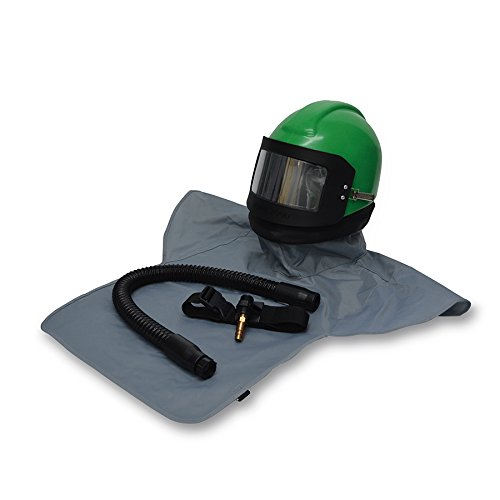 Allegro Industries NV20-00 Nova 2000 Helmet (Complete) with Nylon Cape, Breathing Tube and Flow Control Valve, High Pressure by Allegro Industries