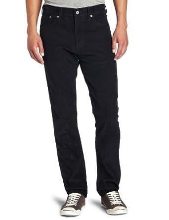 Levi's Men's 508 Regular Tapered Rinsed Corduroy Pant, Common Blue, 32x30