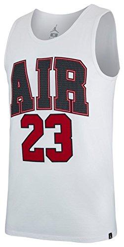 Jordan M JSW TANK AIR 23 WHITE SIZE L by Jordan