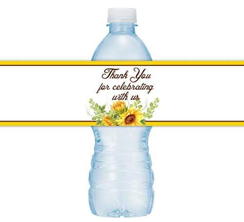 Best sunflower water bottle labels to buy in 2020