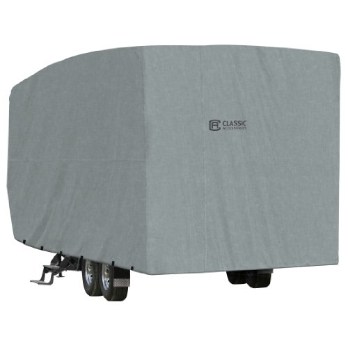 Classic Accessories 80-159-181001-00 Overdrive PolyPro 1 RV Cover for 32' to 36' Toy Hauler Trailers (Trailers Rv Haulers Toy)