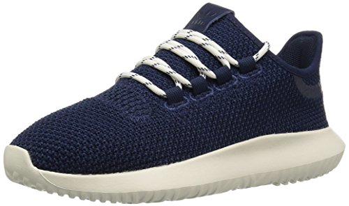 adidas kids Tubular Shadow J, Collegiate Navy/Collegiate Navy/Chalk White, 7 M US Big Kid