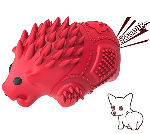 Warthog Squeaky Toys for Dogs Aggressive Chewers – Interactive Durable Dog Chew Toys with Milk Flavor Natural Rubber and…