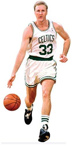 Larry Bird FATHEAD Jr. Graphic Boston Celtics Official NBA Vinyl Wall Graphic 30
