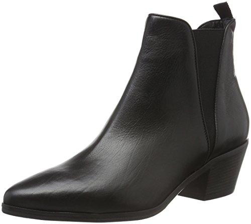 Kennel und Schmenger Schuhmanufaktur Mira, Zapatillas de Estar por Casa para Mujer Negro - Schwarz (schwarz 260)