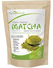Organic Matcha Green Tea (100g), The Best Premium Grade Matcha, Highest Quality Available, Every Batch Lab Tested for Purity, by MySuperfoods