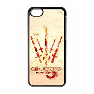 Classic Game of Thrones TV Play Series Customized Special DIY Hard Best Case Cover for iphone 5c iphone 5c