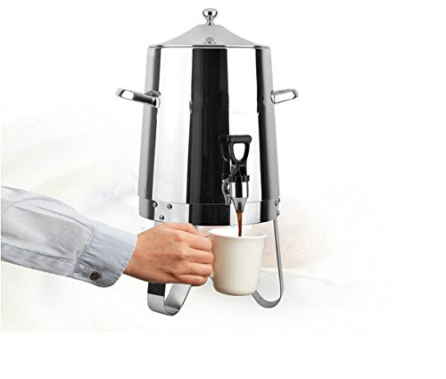Fixture Displays Dispenser, Coffee Urn, Large Stainless Steel 13037 13037 by FixtureDisplays