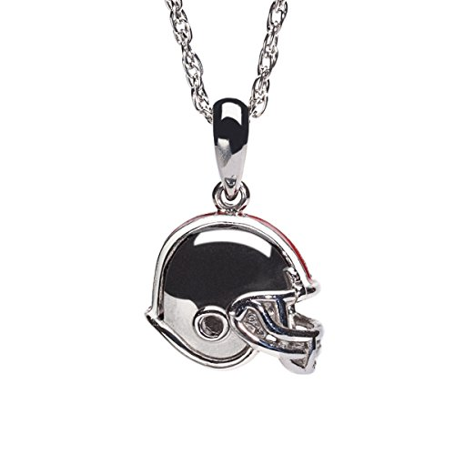 Ohio State Buckeyes Football Helmet Charm Pendant with Chain