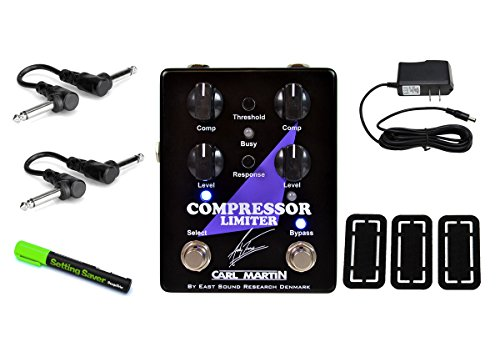 Carl Martin Andy Timmons Signature Compressor/Limiter PRYMAXE PEDAL BUNDLE