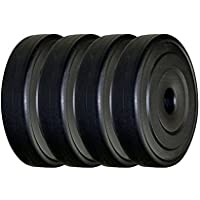 Body Maxx 20 Kg Vinyl Plates for Home Gym.