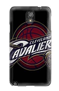 Cute Appearance Cover/tpu DvhDngi3008tiuYJ Cleveland Cavaliers Case For Galaxy Note 3