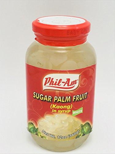Sugar Palm Fruit White (Kaong White) (3 pack)