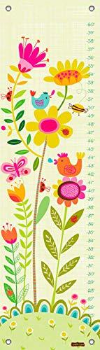 Oopsy Daisy Bloomin' Birdies by Carolyn Gavin Growth Charts, 12 by 42-Inch ()