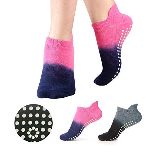 Grip Socks for Yoga Pilates Barre Ballet Non Slip Skid Socks for Women
