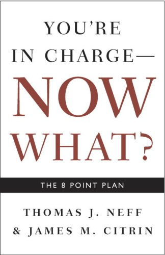 You're in Charge, Now What?: The 8 Point Plan [Thomas J. Neff - James M. Citrin] (Tapa Blanda)