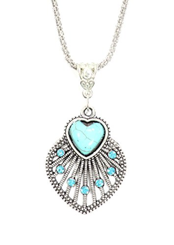 Magic Metal Turquoise Heart...