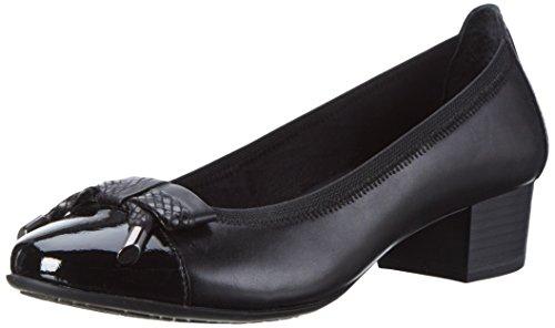 Mujer black Antic Para De Premio Marco Negro 002 Tozzi 22305 Zapatos Tacón FUzZq1