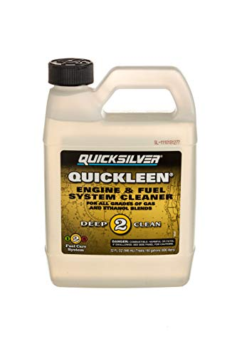 (Quicksilver 8M0058681 Quickleen Engine & Fuel System Cleaner 32 Oz.)