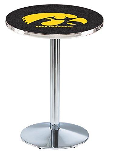 Licensed Iowa Hawkeyes Pub Table (Holland Bar Stool L214C University Of Iowa Officially Licensed Pub Table, 28