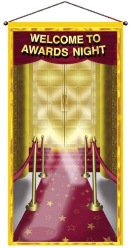 Awards Night Door/Wall Panel Party Accessory (1 count) -