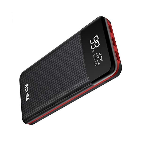 Power Bank Portable Charger 24000mAh High Capacity External Battery Pack with LCD...