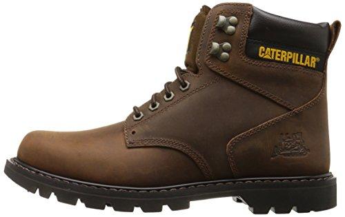 Caterpillar Men's Second Shift Work Boot,Dark Brown,10 M US