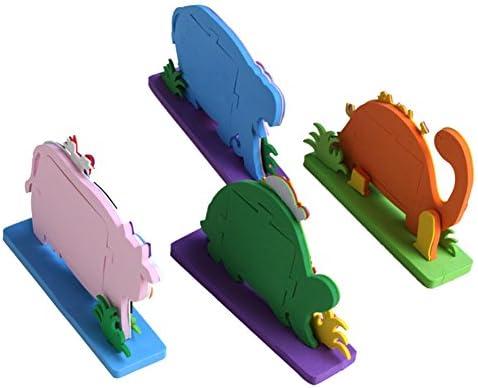 NELNISSA Adhesivo de Espuma EVA 3D Marco de Fotos de Dibujos Animados, decoración para niños