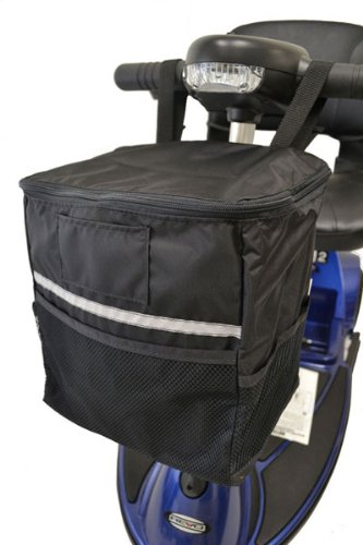 Diestco Soft Scooter Tiller Basket B4231 for most Mobility Scooters ()