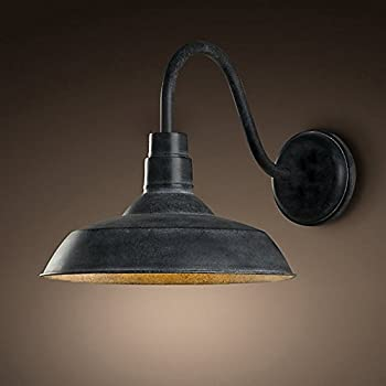 ladiqi industrial wall light vintage wall lamp metal wall sconces barn farmhouse light fixture