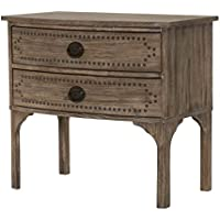 Orient Express Furniture Ellison Nightstand, Gray Wash