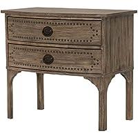Orient Express Furniture Ellison Nightstand, Gray Wash