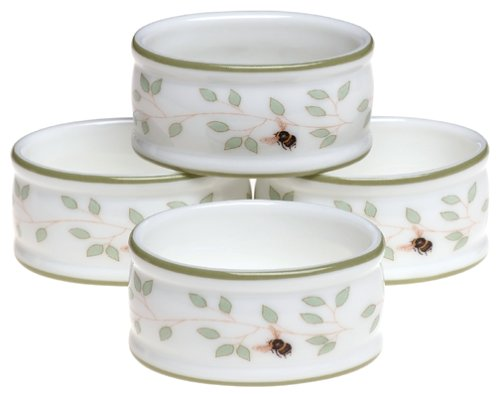 Lenox Butterfly Meadow Napkin Rings, Set of 4 ()