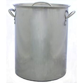 Amazon Com 7 5 30 Qt Gallon Stainless Steel Stock Pot