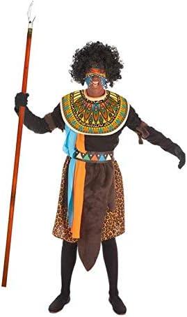 LLOPIS - Disfraz Adulto Africano: Amazon.es: Juguetes y juegos
