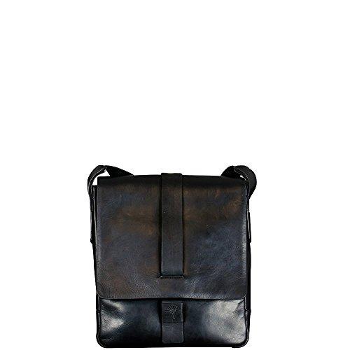 JOOP! Loreto Paris Schulterhandtasche schwarz / edle Herrenhandtasche / echte Rindsleder Schultertasche