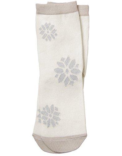 (Gymboree Girls' Little Crew Sock, Snowflake, XS )